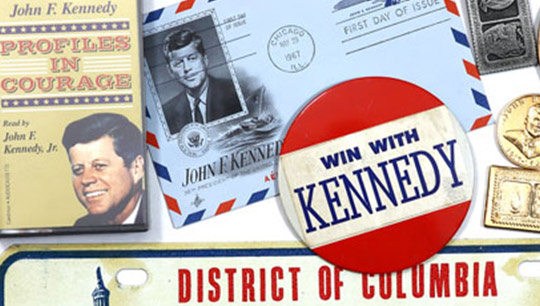 Collage of Kennedy Files