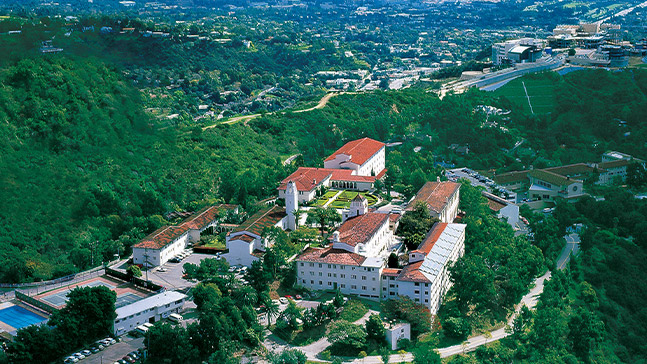 listing image: aerial shot of Chalon campus