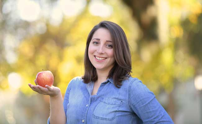 Alison Halpern is a registered dietitian and certified health education specialist, and is the wellness manager in the Department of Sports and Wellness at Mount Saint Mary's University