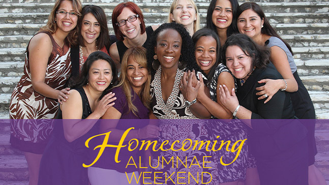 Despite the event being virtual this year, there will be no shortage of events for alumnae to choose from