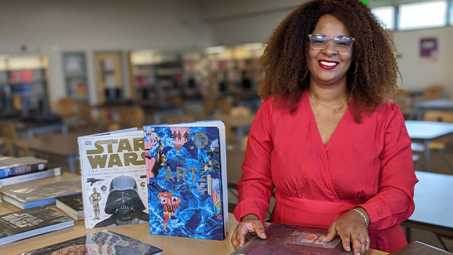 Ensuring literacy and educational opportunities abound for children keeps Yahtina Macali Soto '07 energized