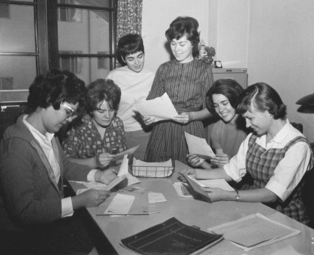 1960s: Staff of Westwords, Mount literary magazine